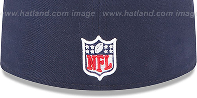 Texans 'NFL BCA' Navy Fitted Hat by New Era