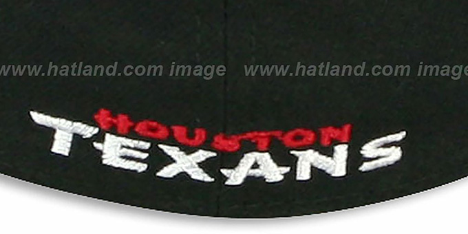 Texans 'NFL TEAM-BASIC' Black Fitted Hat by New Era