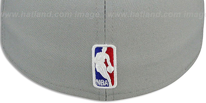Thunder 'NBA-CHASE' Grey-Orange Fitted Hat by New Era