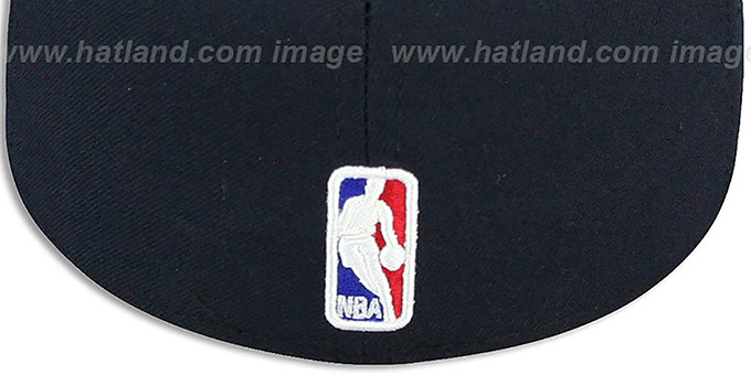 Thunder 'NBA-CHASE' Navy Fitted Hat by New Era