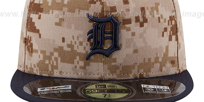 Tigers '2014 STARS N STRIPES' Fitted Hat by New Era