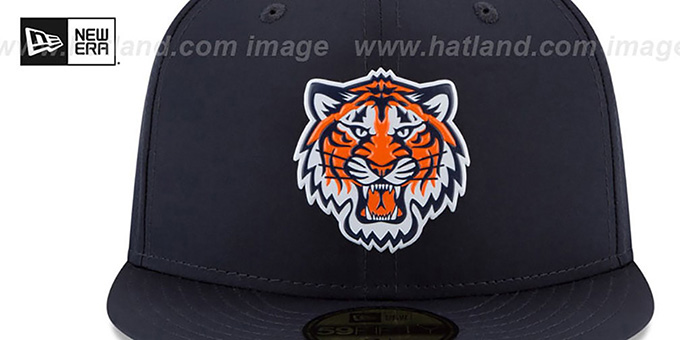 Tigers '2018 PROLIGHT-BP' ALTERNATE Navy Fitted Hat by New Era