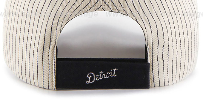 Tigers 'HOME-RUN PINSTRIPE STRAPBACK' Hat by Twins 47 Brand