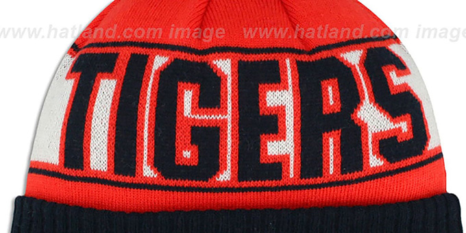 Tigers 'REP-UR-TEAM' Knit Beanie Hat by New Era