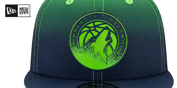 Timberwolves 'BACK HALF FADE SNAPBACK' Hat by New Era
