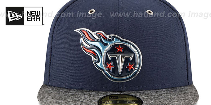 Titans '2016 NFL DRAFT' Fitted Hat by New Era