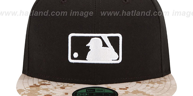 Umpire '2015 STARS N STRIPES' Fitted Hat by New Era