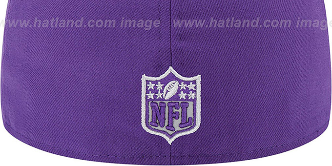 Vikings '2014 NFL DRAFT' Purple Fitted Hat by New Era