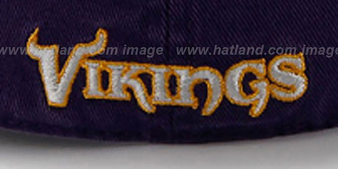 Vikings 'NFL FRANCHISE' Purple Hat by 47 Brand