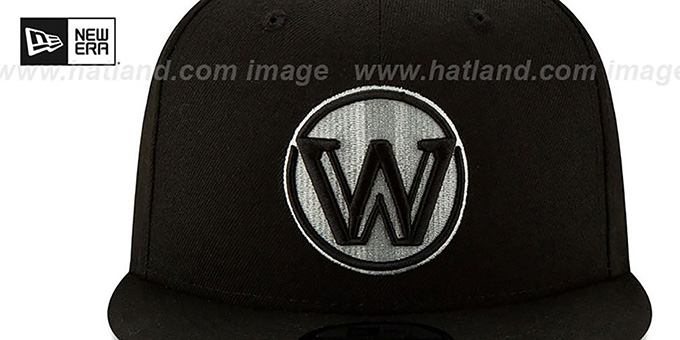 Warriors 19-20 'CITY-SERIES' ALTERNATE SNAPBACK Black Hat by New Era