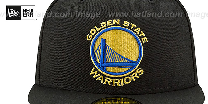 Warriors '2017 FINALS' Black Fitted Hat by New Era