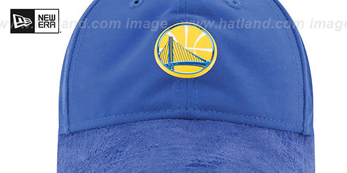 Warriors '2017 NBA ONCOURT DRAFT STRAPBACK' Royal Hat by New Era