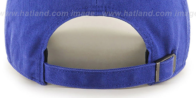 Warriors HWC 'POLO STRAPBACK' Royal Hat by Twins 47 Brand