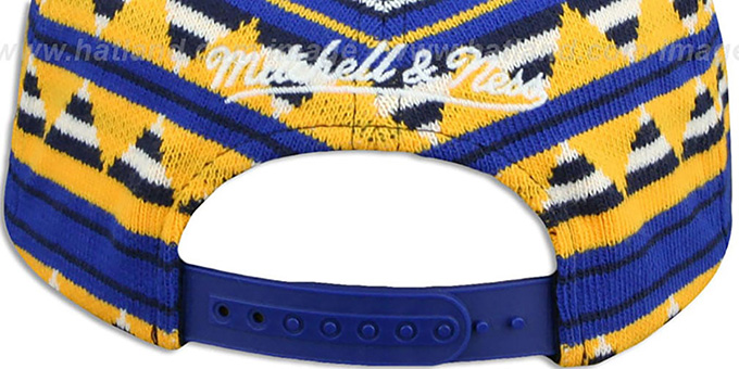 Warriors 'MIXTECH SNAPBACK' Hat by Mitchell and Ness