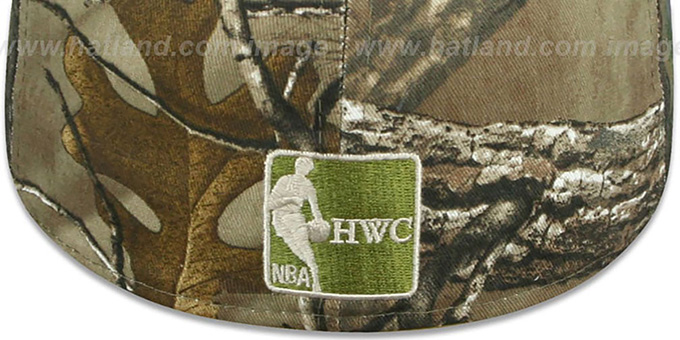 Warriors 'NBA TEAM-BASIC' Realtree Camo Fitted Hat by New Era