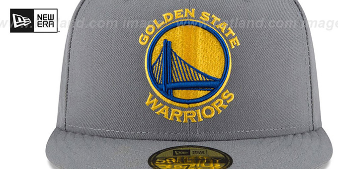 Warriors 'TEAM-SUPERB' Grey Fitted Hat by New Era