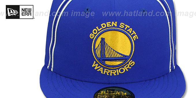 Warriors 'Y2K SOUTACHE' Royal Fitted Hat by New Era