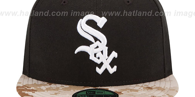 White Sox '2015 STARS N STRIPES' Fitted Hat by New Era