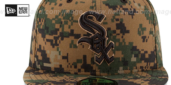 White Sox 2016 MEMORIAL DAY 'STARS N STRIPES' Hat by New Era