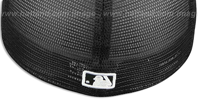 White Sox DALMATION 'ANIMAL-FUR MESH-BACK' Fitted Hat by New Era