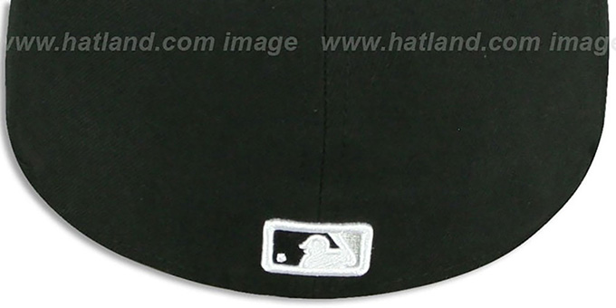 White Sox 'REAL TIGER VIZA-PRINT' Black Fitted Hat by New Era