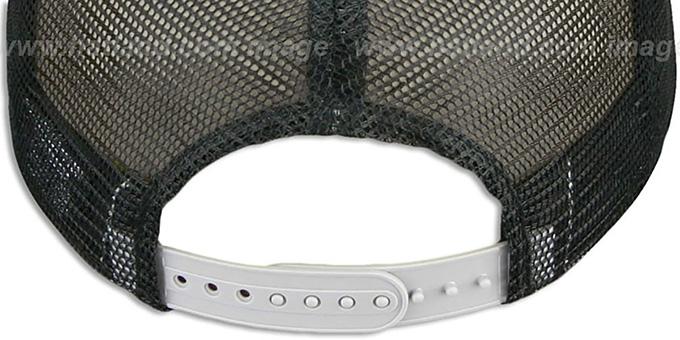 White Sox SNAKE A-FRAME SNAPBACK Black-Grey Hat by New Era at hat