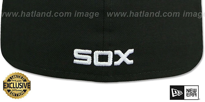 White Sox 'SOUTH SIDE HITMEN' Black Fitted Hat by New Era