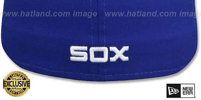 White Sox 'SOUTH SIDE HITMEN' Royal Fitted Hat by New Era