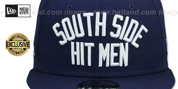 White Sox 'SOUTH SIDE HITMEN' SNAPBACK Navy Hat by New Era