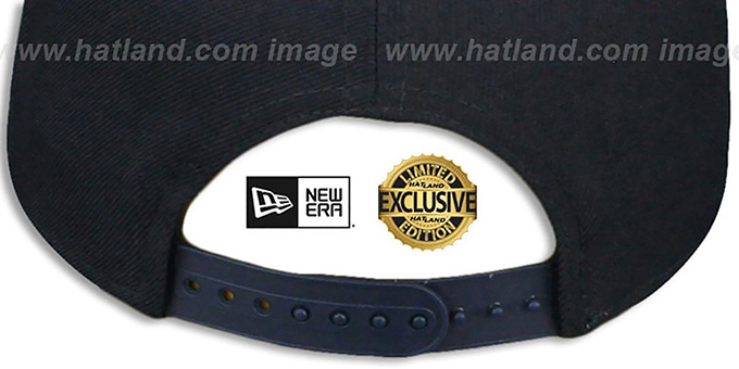 Yankees  'CHAIN SNAPBACK' Navy Hat by New Era