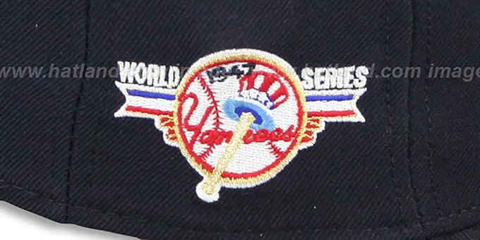 New York Yankees 1947 WORLD SERIES GAME-2 Hat by New Era 0ac5102a1b86