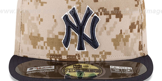fa9a4382004 New York Yankees 2014 STARS N STRIPES Fitted Hat by New Era