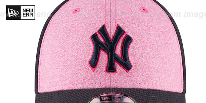 ef87ae357d4fce ... Yankees '2018 MOTHERS DAY FLEX' Pink-Navy Hat by New Era ...