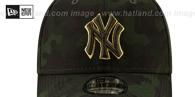 Yankees 2019 ARMED FORCES 'STARS N STRIPES FLEX' Hat by New Era