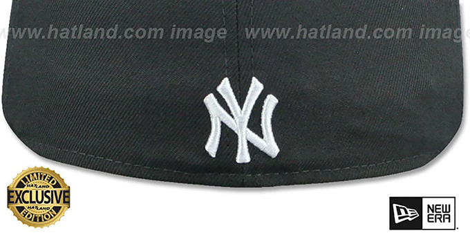 Yankees 'BRONX BOMBERS' Charcoal Grey Fitted Hat by New Era