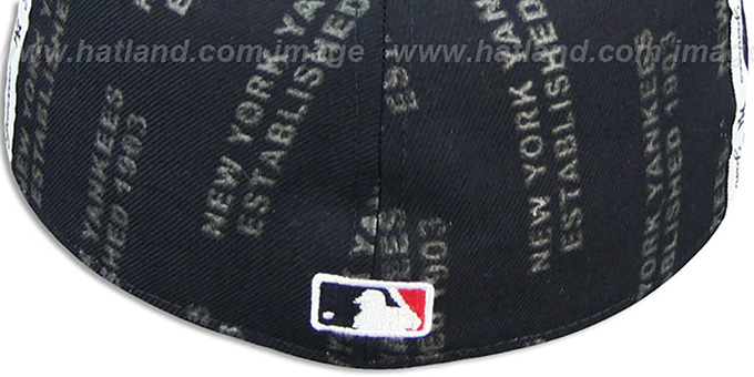 Yankees 'GELLIN' Navy-White Fitted Hat by New Era