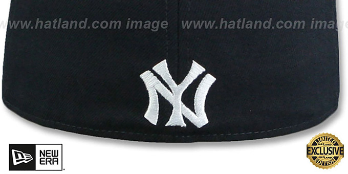 31961dfb674e42 ... Yankees 'MURDERERS ROW CALLOUT' Navy Fitted Hat by New Era ...