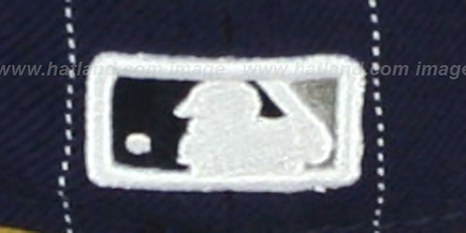 Yankees 'PIN-SCRIPT' Navy-Grey Fitted Hat by New Era