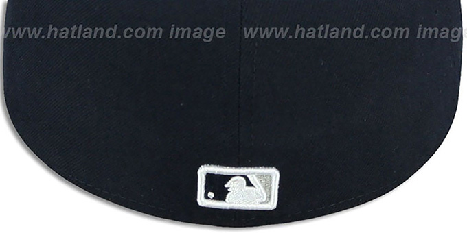 Yankees 'REAL CHAINS VIZA-PRINT' Navy Fitted Hat by New Era
