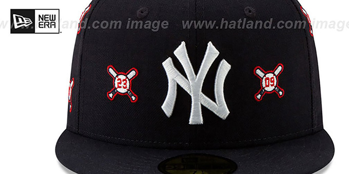 Yankees 'SPIKE LEE' BALLS-N-BATS Navy Fitted Hat by New Era