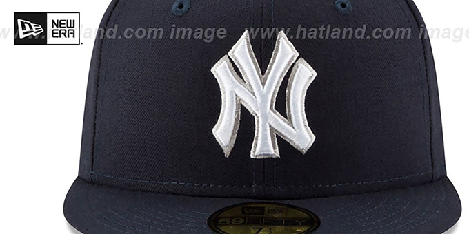 Yankees 'STATE STARE' Navy Fitted Hat by New Era