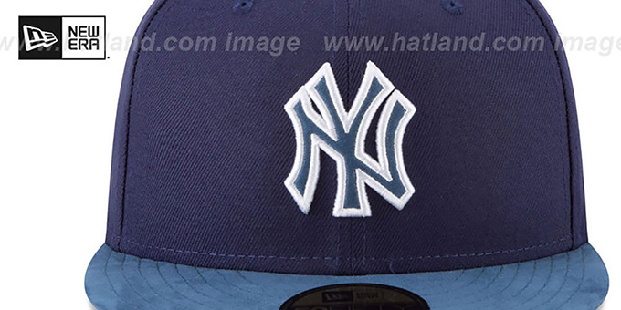 Yankees 'TONAL-CHOICE' Navy Fitted Hat by New Era