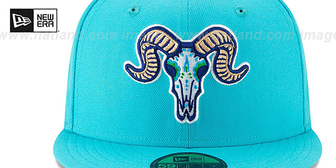 Yard Goats 'COPA' Blue Fitted Hat by New Era