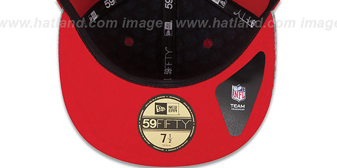 49ers '2014 NFL DRAFT' Red Fitted Hat by New Era