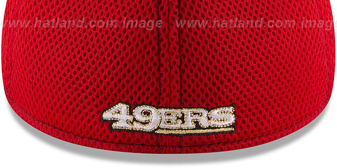 49ers 'REALTREE NEO MESH-BACK' Flex Hat by New Era