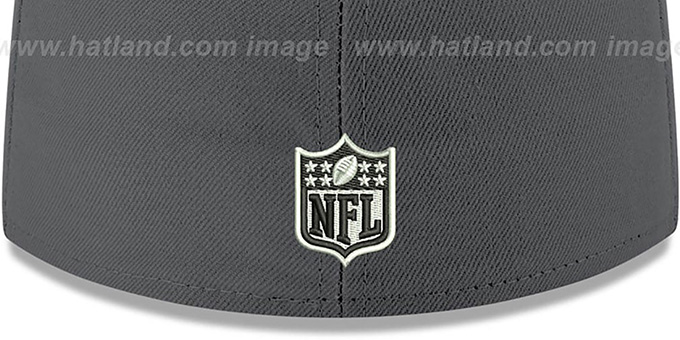 49ers 'SHADER MELT-2' Grey-Red Fitted Hat by New Era