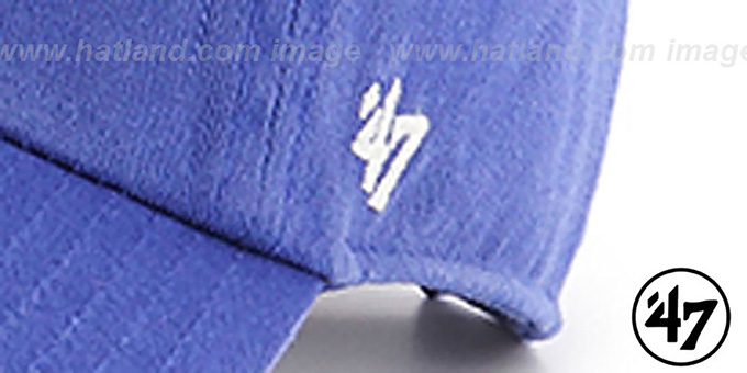 76ers 'CLEAN-UP STRAPBACK' Royal Hat by Twins 47 Brand