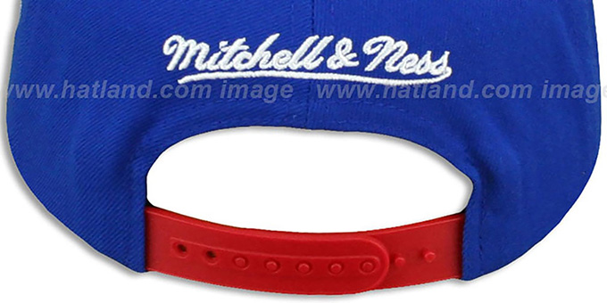 76ers 'GRADIANT-ARCH SNAPBACK' Royal-Red Hat by Mitchell & Ness
