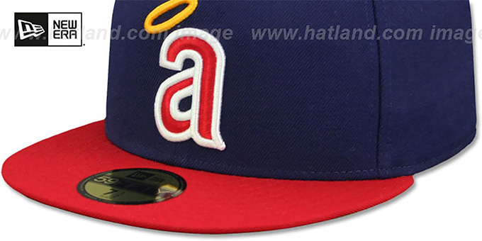 Angels 'CAREW' Fitted Hat by New Era