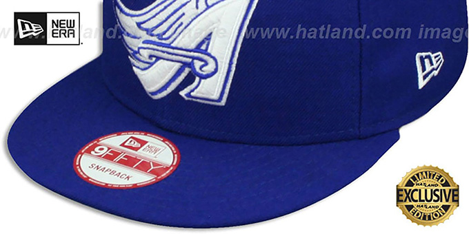 Angels COOP 'TEAM-BASIC SNAPBACK' Royal-White Hat by New Era